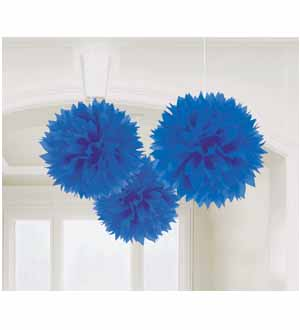 Fluffy Decoration Royal Blue 3ct