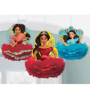 Elena of Avalor Fluffy Decoration 3ct