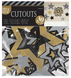 Hollywood Cutouts Deco Mega Value Pack