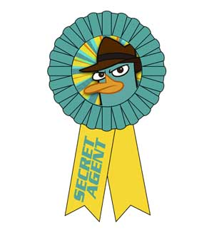 Phineas and Ferb - Agent P Award Ribbon