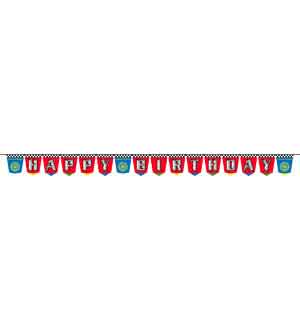 Cars Dream Party Birthday Banner