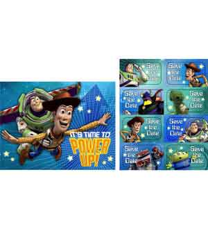 Toy Story Game Time Invitations