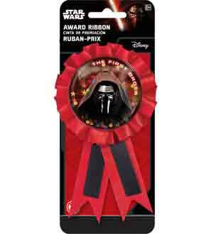 Star Wars the Force Awakens Award Ribbon
