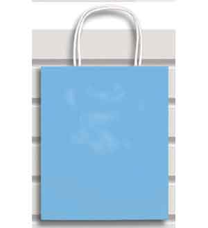 Gift Bag (XS) Baby Blue
