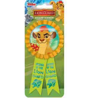 Lion Guard Award Ribbon
