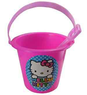 Hello Kitty Sand Bucket and Shovel