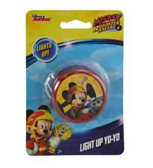 Mickey and The Roadster Racer Light YoYo