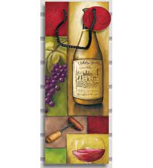 Gift Bag Bottle Vintage ~ 25869