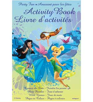 Fairies Activity Books 4ct