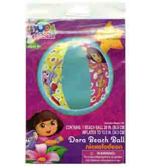 Dora Inflatable 20in Beach Ball
