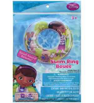 Doc Mcstuffins Inflatable Swim Ring