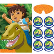 Diego Big Rescue Party Game