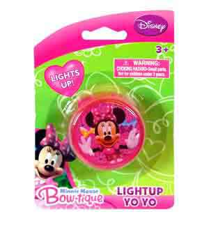 Minnie Light Up Yoyo 2 Asstd