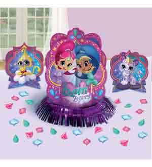 Shimmer and Shine Table Deco