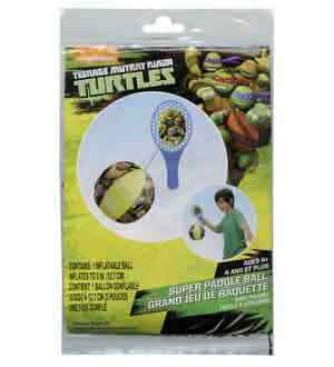 TMNT Ninja Turtle Inflatable Ball Paddle