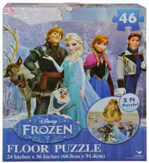 Disney Frozen 46pc Floor Puzzle