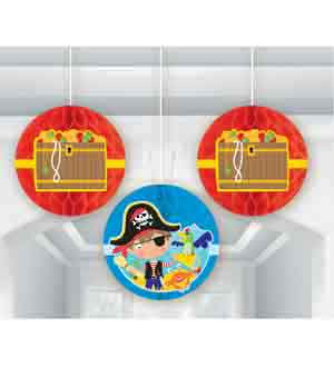 Little Pirate Honeycomb Deco 3ct