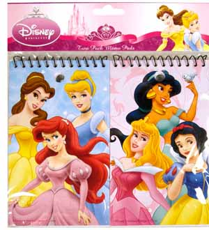 Princess Memo Pad 2ct 3X5in -Prspi