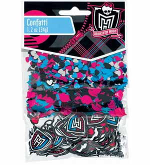 Monster High Confetti 1.5oz