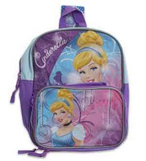Cinderella Backpack 12in and Lunch B