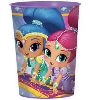 Shimmer and Shine Favor Cup 16oz