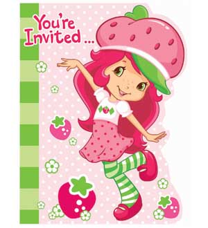 Strawberry Shortcake Dc Invite