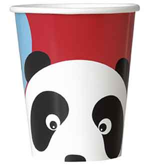 Birthday Panda 9oz Cup 8ct