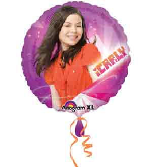 Mylar Balloon 18in - I Carly
