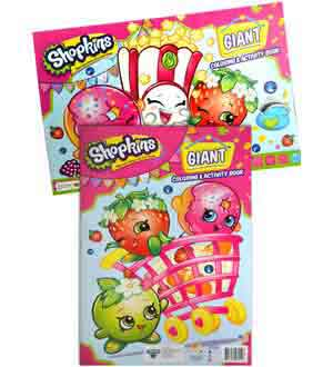 Shopkins Giant Coloring Activity Book