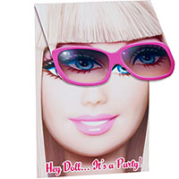 Barbie All Doll D Up Invitation 8ct