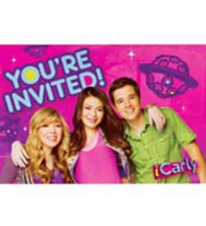 Icarly Invitation 8ct
