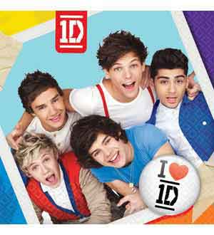 One Direction Napkin (L) 16ct