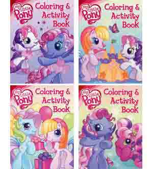 My Little Pony Coloring Book 96pg
