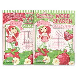 Coloring Puzzle Book Strawberry 96pg