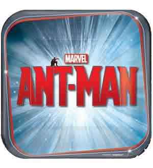 Ant-Man Plate (S) 8ct