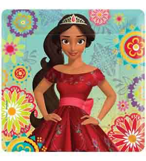 Elena of Avalor Plate (S) 8ct
