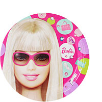 Barbie All Doll D Up Plate (S) 8ct