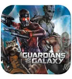 Guardians of the Galaxy Plate (L) 8ct