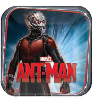 Ant-Man Plate (L) 8ct