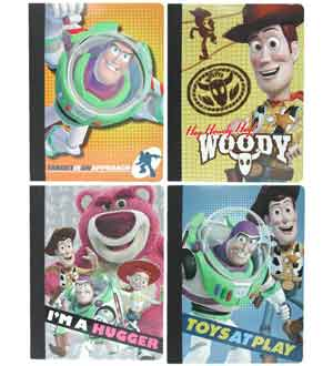 Toy Story Composition Book 60 Sht