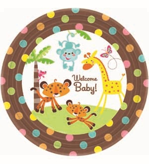 Fisher Price Baby Plate (L) 8ct