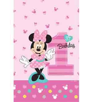 Minnie Fun To Be One Tablecover 54x102