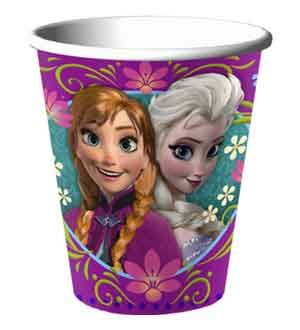 Disney Frozen Cup 9 Oz 8 Ct ~ 581416