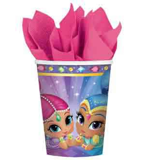 Shimmer and Shine Cup 9oz 8ct