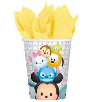 Disney Tsum Tsum Cup 9oz 8ct