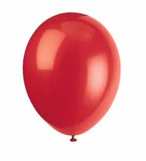 Balloon 12in - Cherry Red 100ct