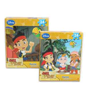 Jake and The Neverland Puzzle 24ct