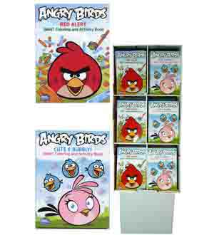 Angry Birds Coloring Book 96pgs