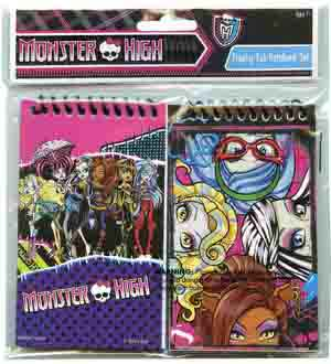 Monster High 3x5 Memo Pad 2 Pk