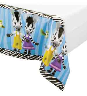 Zou the Zebra Tablecover 54x102